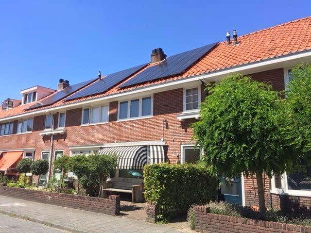 woningen met zonnepanelen